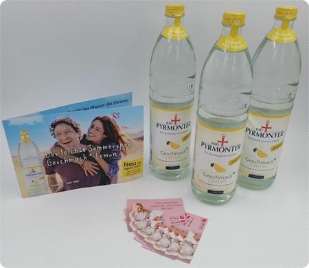 BAD PYRMONTER Geschmack+ Lemon - Wasser mit Geschmack ohne Zucker und Kalorien