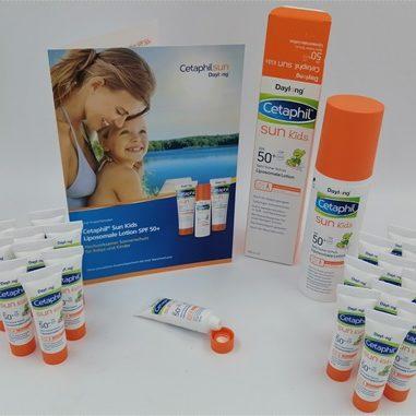 Cetaphil Sun Kids Liposomale Lotion – Schutz für empfindliche Baby- und Kinderhaut sowie Neurodermitiker