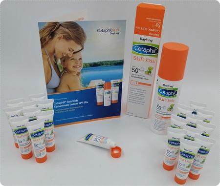 Cetaphil Sun Kids Liposomale Lotion - Schutz für empfindliche Baby- und Kinderhaut sowie Neurodermitiker