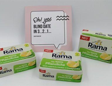 Rama Die 100 % Pflanzliche – Vegane Butter-Alternative zum Braten, Kochen, Backen und Streichen