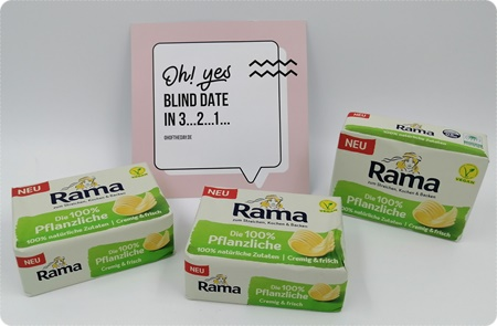 Rama Die 100 % Pflanzliche - Vegane Butter-Alternative zum Braten, Kochen, Backen und Streichen
