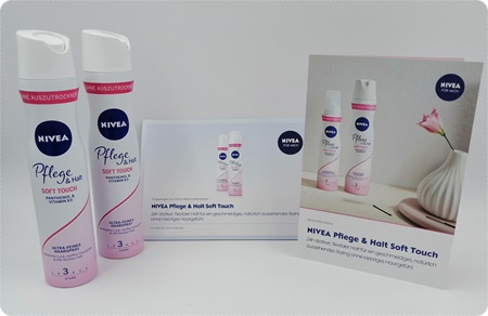 NIVEA Pflege & Halt Soft Touch Haarspray - Keine Haarschäden und trotzdem Halt