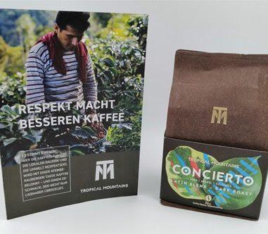Tropical Mountains Concierto Kaffeebohnen – Qualitätskaffee von einer familiengeführten Kaffeeplantage