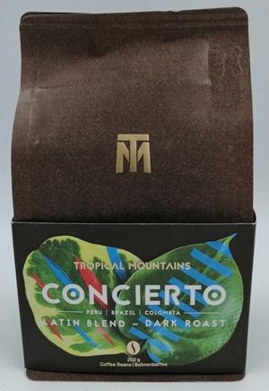 Tropical Mountains Concierto Kaffeebohnen - Qualitätskaffee von einer familiengeführten Kaffeeplantage