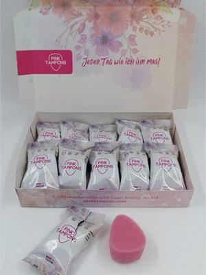 Pink Tampons – Softe Tampons ohne Bändchen für volle Freiheit während deiner Periode