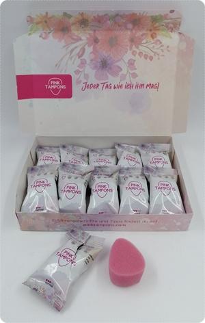 Pink Tampons - Softe Tampons ohne Bändchen für volle Freiheit während deiner Periode