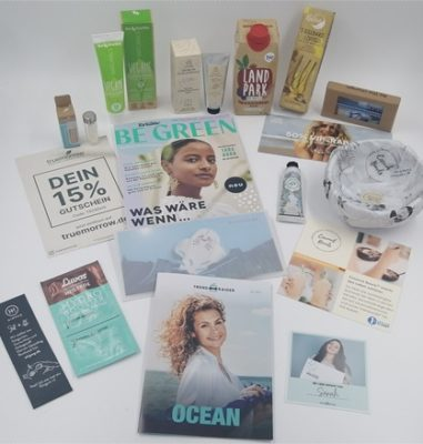"""Die nachhaltige Box von TrendRaider – Juni TrendBox mit dem Thema """"Ocean"""""""