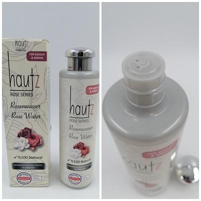 Rosenwasser und mehr - Hochwertige Pflegekosmetik von HAUTz Cosmetics