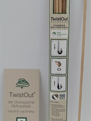 TwistOut – Der nachhaltige Stab gegen verstopfte Abflüsse