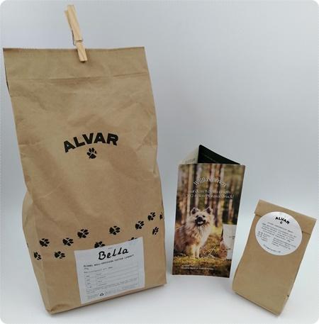 Alvar - CO2-neutrales Hundefutter das du und dein Hund lieben werdet
