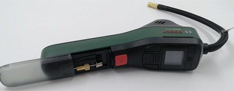 Akku-Druckluftpumpe EasyPump von Bosch - Allrounder für Reifen, Bälle und Wassersportartikel