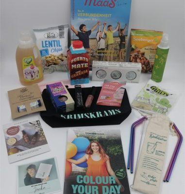 """Die nachhaltige Box von TrendRaider – Juli TrendBox mit dem Thema """"Colour your Day"""""""