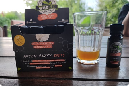one:47 After Party Drink - Feiern ohne Hangover