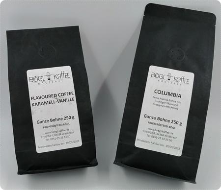 Privatrösterei Bögl - Klassischer oder aromatisierter Kaffee