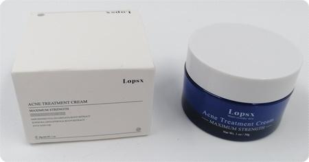 Lopsx Natural Acne Treatment Cream - Hilfe gegen Pickel und Rötungen