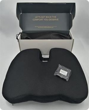 ComfyCentre - Lendenstützkissen und Sitzkissen gegen Rückenschmerzen